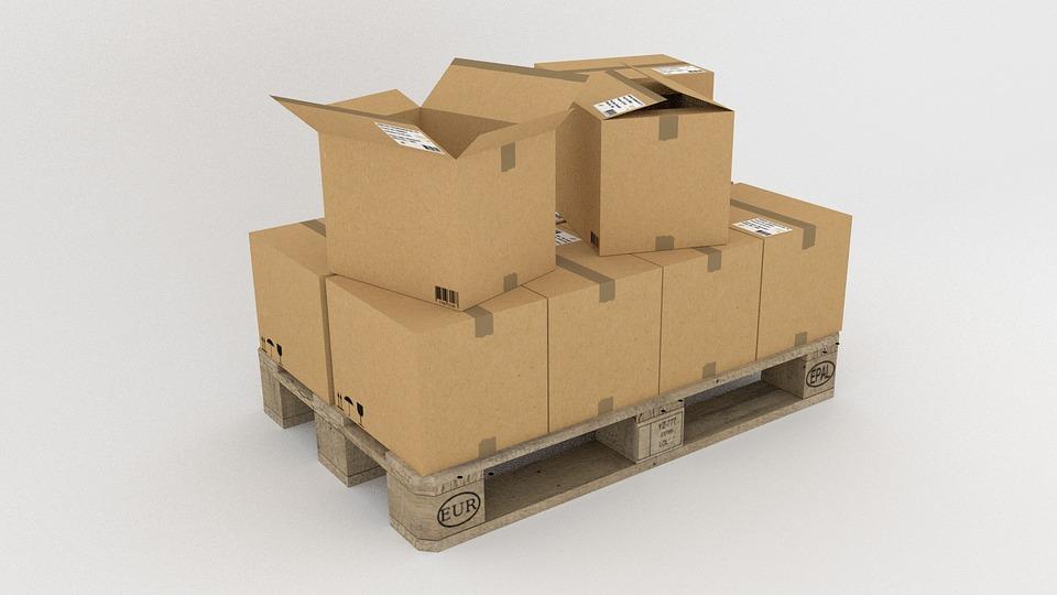 krabice, preprava